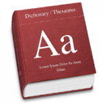 picture of a generic dictionary